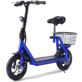 MotoTec Metro 36v 350w Lithium Electric Scooter Blue_4