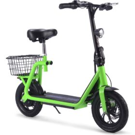 MotoTec Metro 36v 350w Lithium Electric Scooter Green