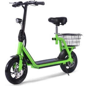 MotoTec Metro 36v 350w Lithium Electric Scooter Green_5