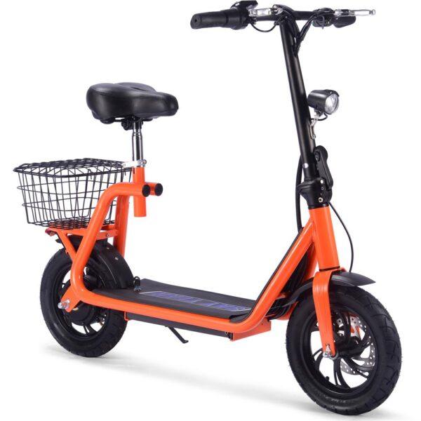 MotoTec Metro 36v 350w Lithium Electric Scooter Orange