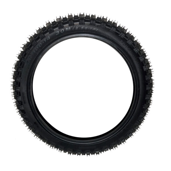 MotoTec Pro Dirt Bike 1500w Front Tire 60/100-14