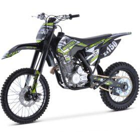 MotoTec X4 150cc 4-Stroke Gas Dirt Bike Black_2